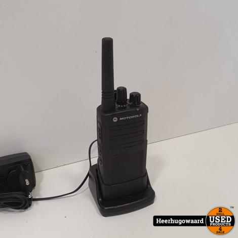 Motorola XT420 Portofoon incl. Lader in Nette Staat