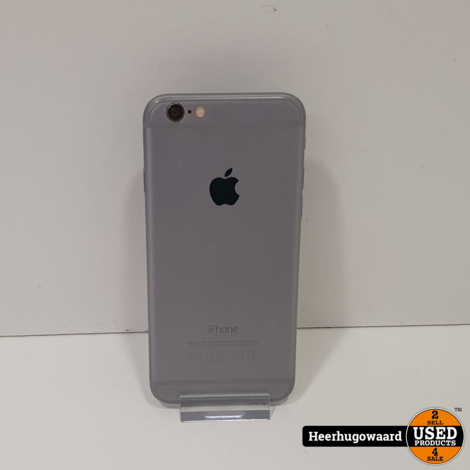 iPhone 6 64GB Space Grey in Goede Staat - Accu 92%