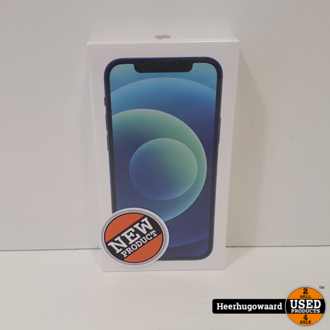 iPhone 12 256GB Pacific Blue Nieuw in Seal