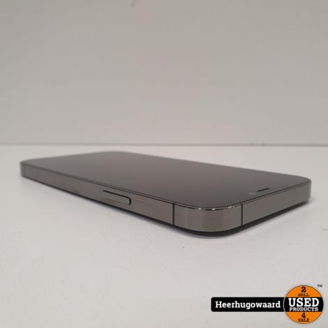 iPhone 12 Pro 128GB Graphite Compleet in Zeer Nette Staat - Apple Garantie