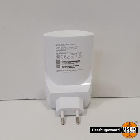 TP-Link AC750 WiFi Range Extender in Nette Staat