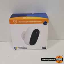 Smart Home Beveiliging Outdoor eye Draadloze IP beveiligingscamera op accu ZGAN