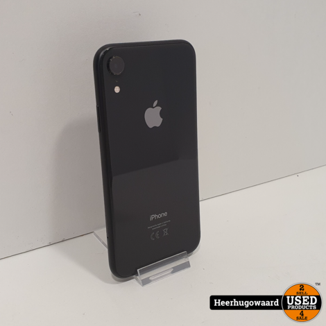 iPhone XR 64GB Black in Nette Staat - Accu 90%