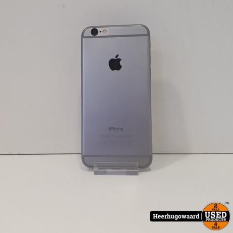 iPhone 6 64GB Space Grey in Zeer Nette Staat - Accu 89%