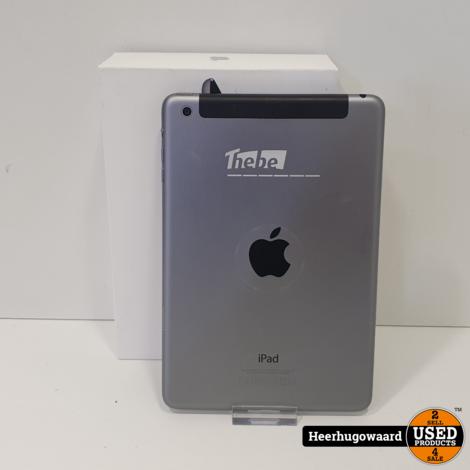 iPad Mini 2 32GB Wifi + 4G Space Gray in Nette Staat