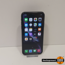 iPhone XR 64GB Black in Gebruikte Staat - Accu 90%