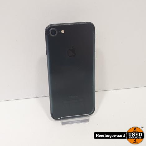 iPhone 7 32GB Jet Black in Goede Staat - Accu 100%