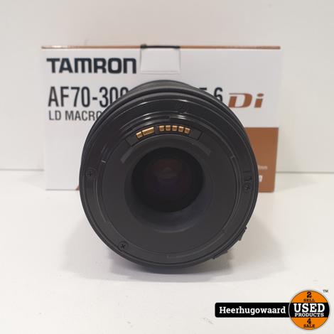 Tamron AF 70-300mm F/4-5.6 LD DI Lens voor Canon Compleet in Nette staat