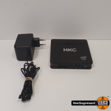 HKC 3350 Mini Desktop in Goede Staat - Celeron 4GB 32GB SSD