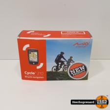 Mio Cyclo 210 Fietsnavigatie Europa Nieuw in Doos