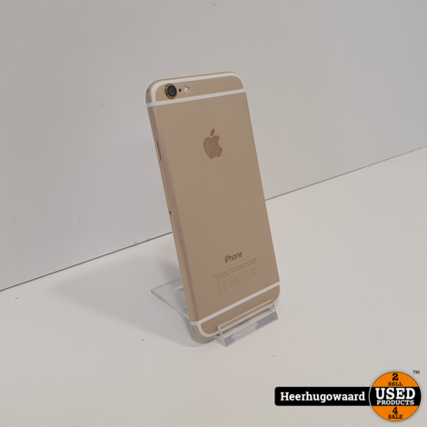 iPhone 6 16GB Gold in Nette Staat - Accu 85%