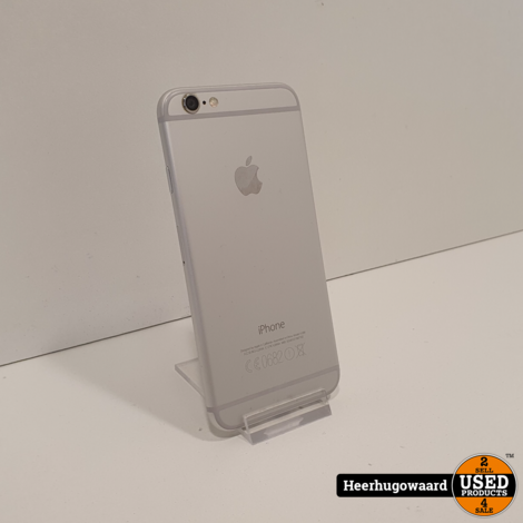 iPhone 6 64GB Silver in Nette Staat - Accu 91%