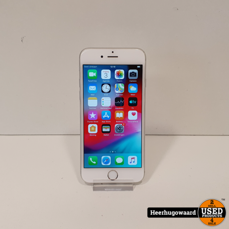 iPhone 6 64GB Silver in Nette Staat - Accu 90%