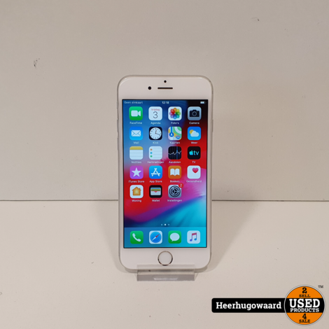 iPhone 6 64GB Silver in Nette Staat - Accu 92%