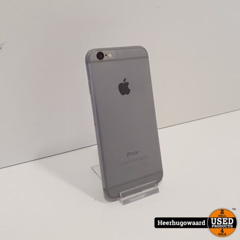iPhone 6 64GB Space Gray in Nette Staat - Accu 82%
