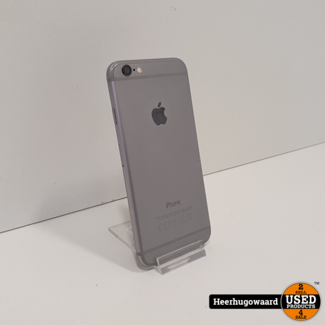 iPhone 6 16GB Space Grey in Nette Staat - Accu 70%