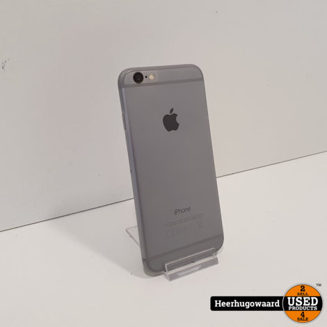 iPhone 6 64GB Space Gray in Nette Staat - Accu 92%