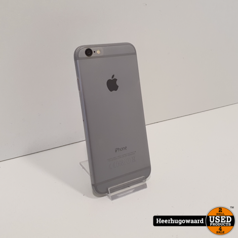 iPhone 6 128GB Space Gray in Goede Staat - Accu 86%