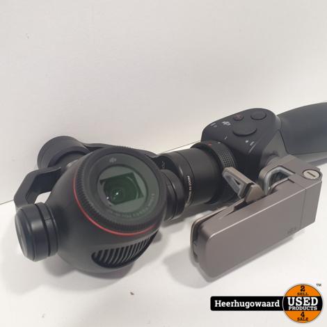 DJI Osmo Zenmuse X3 Zoom Gimbal Camera incl. 3 Accu's en Lader in Nette Staat