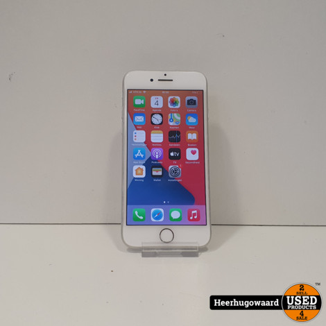 iPhone 7 32GB Silver in Nette Staat - Accu 87%