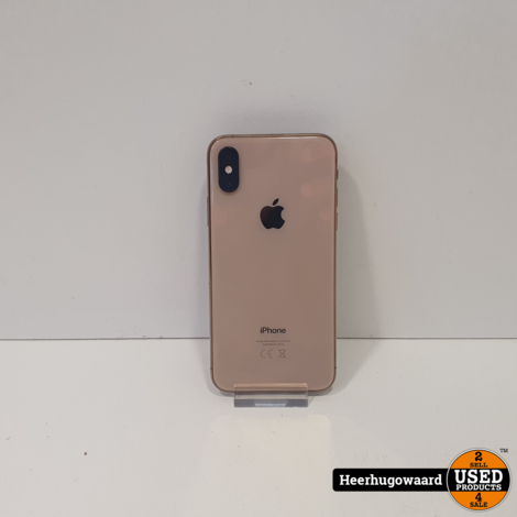 iPhone XS 64GB Gold in Zeer Nette Staat - Accu 84%