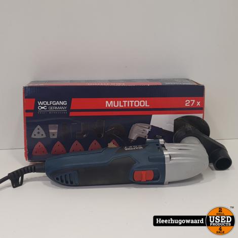 Wolfgang CGN220C Slijptol 115mm met Accessoires in Nette Staat