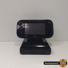 Nintendo Wii U 32GB Zwart Compleet in Nette Staat