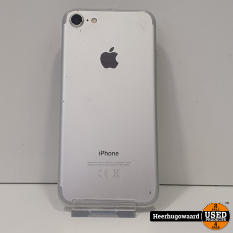 iPhone 6 64GB Silver in Nette Staat - Accu 88%
