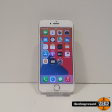 iPhone 6 64GB Silver in Nette Staat - Accu 93%