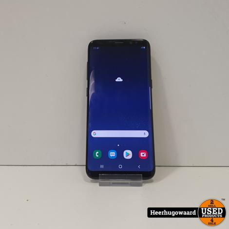 Samsung Galaxy S8 64GB Black in Nette Staat