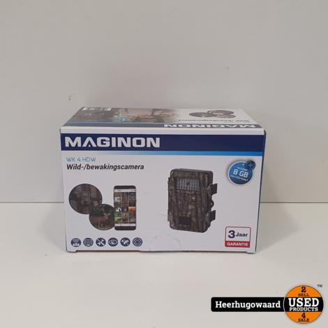 Maginon WK 4 HDW Wild/bewakingscamera Compleet in Doos in Nieuwstaat