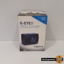 G-Eye 2 Discover Full HD 1080P Sportcamera Nieuw in Doos