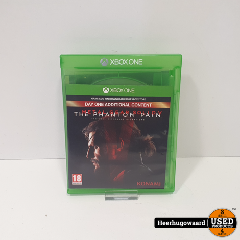 Xbox One Game: Metal Gear Solid The Phantom Pain