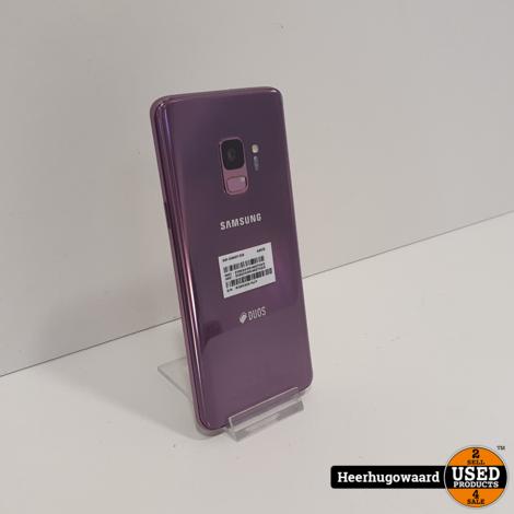 Samsung Galaxy S9 Dual Sim Lilac Purple 64GB in Zeer Nette Staat
