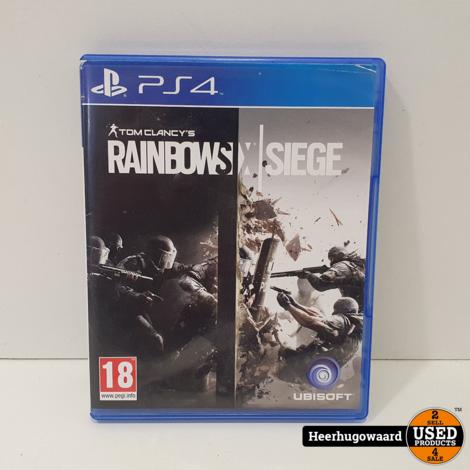 PS4 Game: Tom Clancy's Rainbow Six Siege