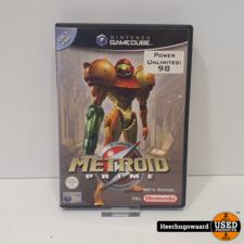 Nintendo Gamecube Game: Metroid Prime Compleet in Nette Staat