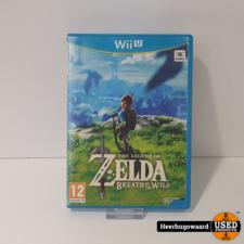 Nintendo Wii U Game: The Legend of Zelda Breath of The Wild