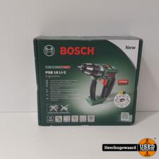 Bosch PSB 18 LI-2 Accuboormachine Losse Body ZGAN in Doos