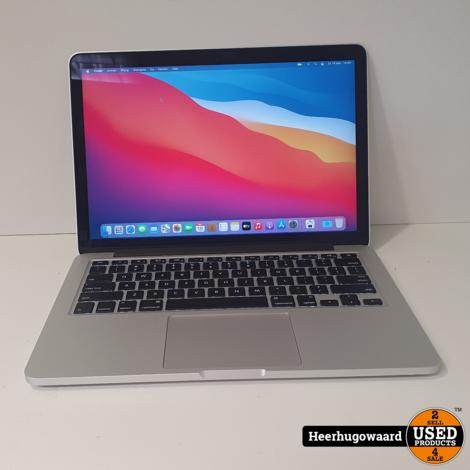 MacBook Pro 13 inch 2015 - i5 8GB 128GB SSD 7 Cycli