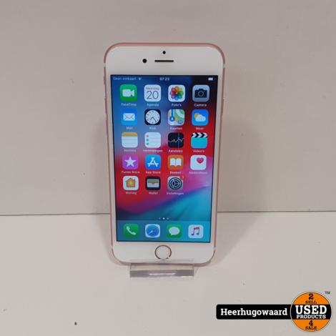 iPhone 6S 64GB Rose Gold in Zeer Nette Staat - Accu 86%