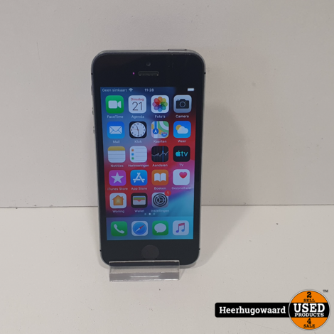 iPhone 5S 32GB Space Grey in Goede Staat