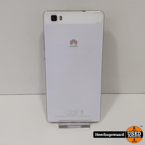 Huawei P8 Lite 16GB Wit in Nette Staat