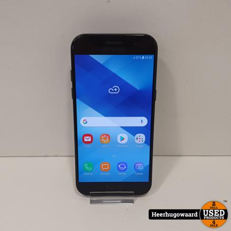 Samsung Galaxy A5 2017 32GB Black in Zeer Nette Staat