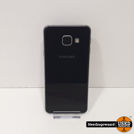 Samsung Galaxy A3 2016 16GB Black in Zeer Nette Staat