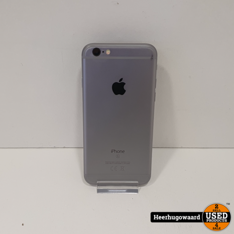 iPhone 6S 32GB Space Grey in Nette Staat - Accu 96%
