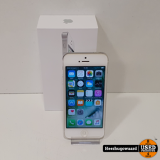 iPhone 5 16GB Silver in Goede Staat