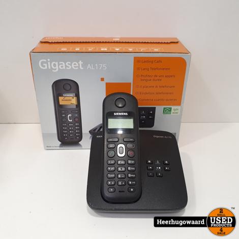 Siemens Gigaset AL175 Huistelefoon Compleet in Nette Staat