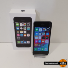 iPhone 5S 16GB Space Grey Compleet in Nette Staat