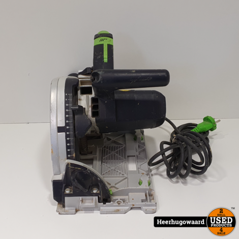 Festool TS 55 EBQ Invalzaag in Systainer in Goede Staat