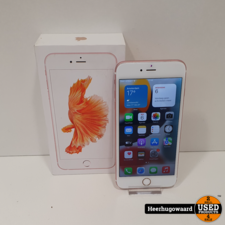 iPhone 6S Plus 32GB Rose Gold Compleet in Nette Staat - Accu 100%